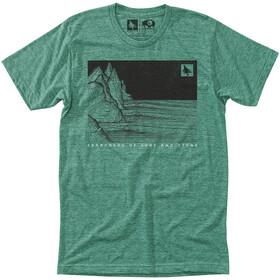 Hippy Tree Nightbreak Kortærmet T-shirt Herrer grøn